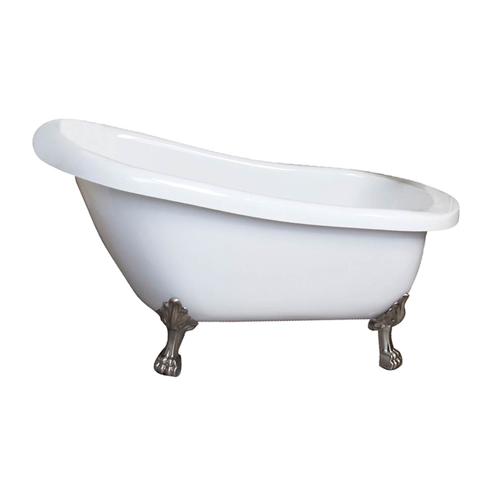 Barclay Clawfoot Soaking Tubs item AS7H67LP-WH-CP