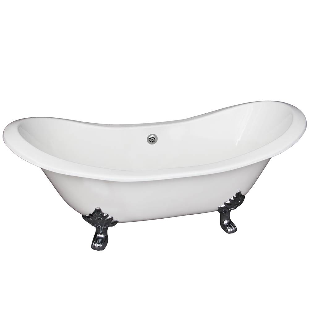 Barclay Clawfoot Soaking Tubs item CTDS7H61-WH-BN
