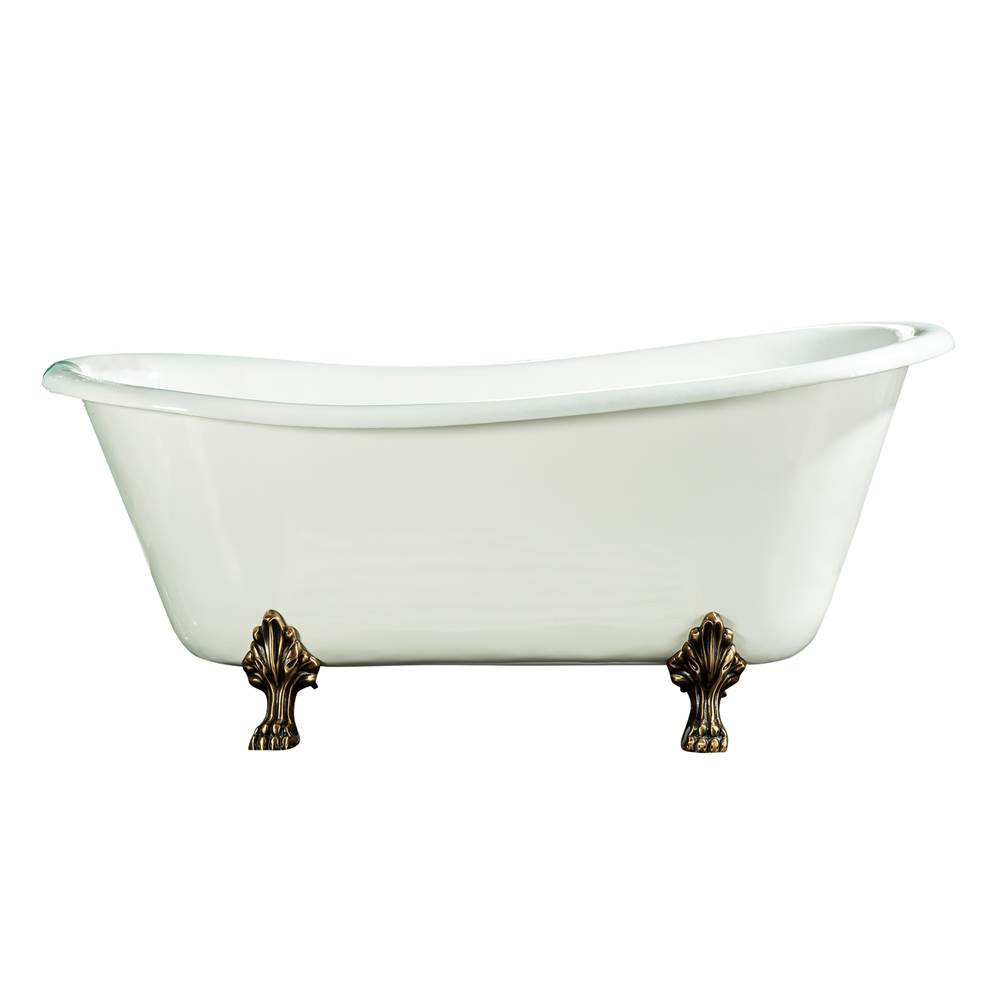 Barclay Clawfoot Soaking Tubs item CTSN67LP-WH-BN