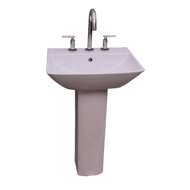 Barclay Complete Pedestal Bathroom Sinks item B/3-761WH