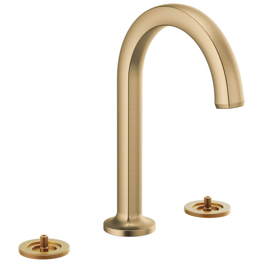 Brizo Widespread Bathroom Sink Faucets item 65306LF-GLLHP-ECO