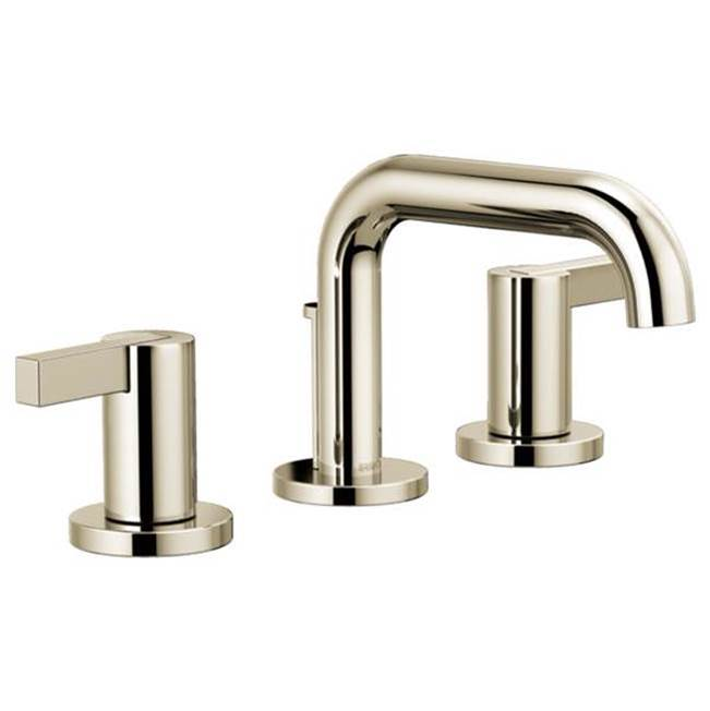 Brizo Widespread Bathroom Sink Faucets item 65337LF-PNLHP