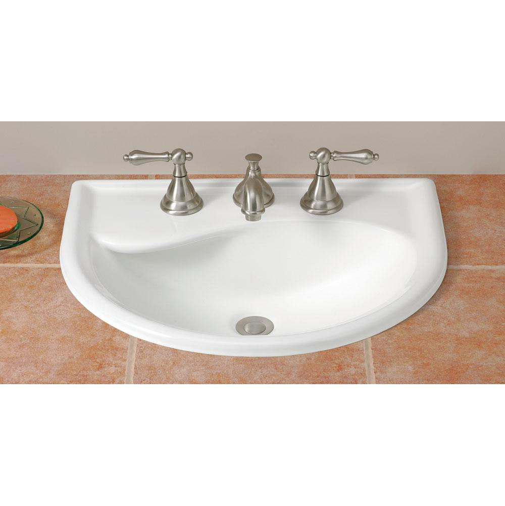 Cheviot Products Drop In Bathroom Sinks item 1177-WH-1