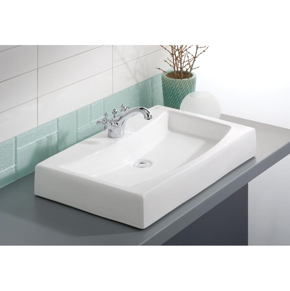 Cheviot Products Vessel Bathroom Sinks item 1620-WH-8