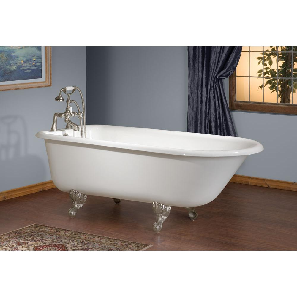 Cheviot Products Clawfoot Soaking Tubs item 2093-WW-8-WH