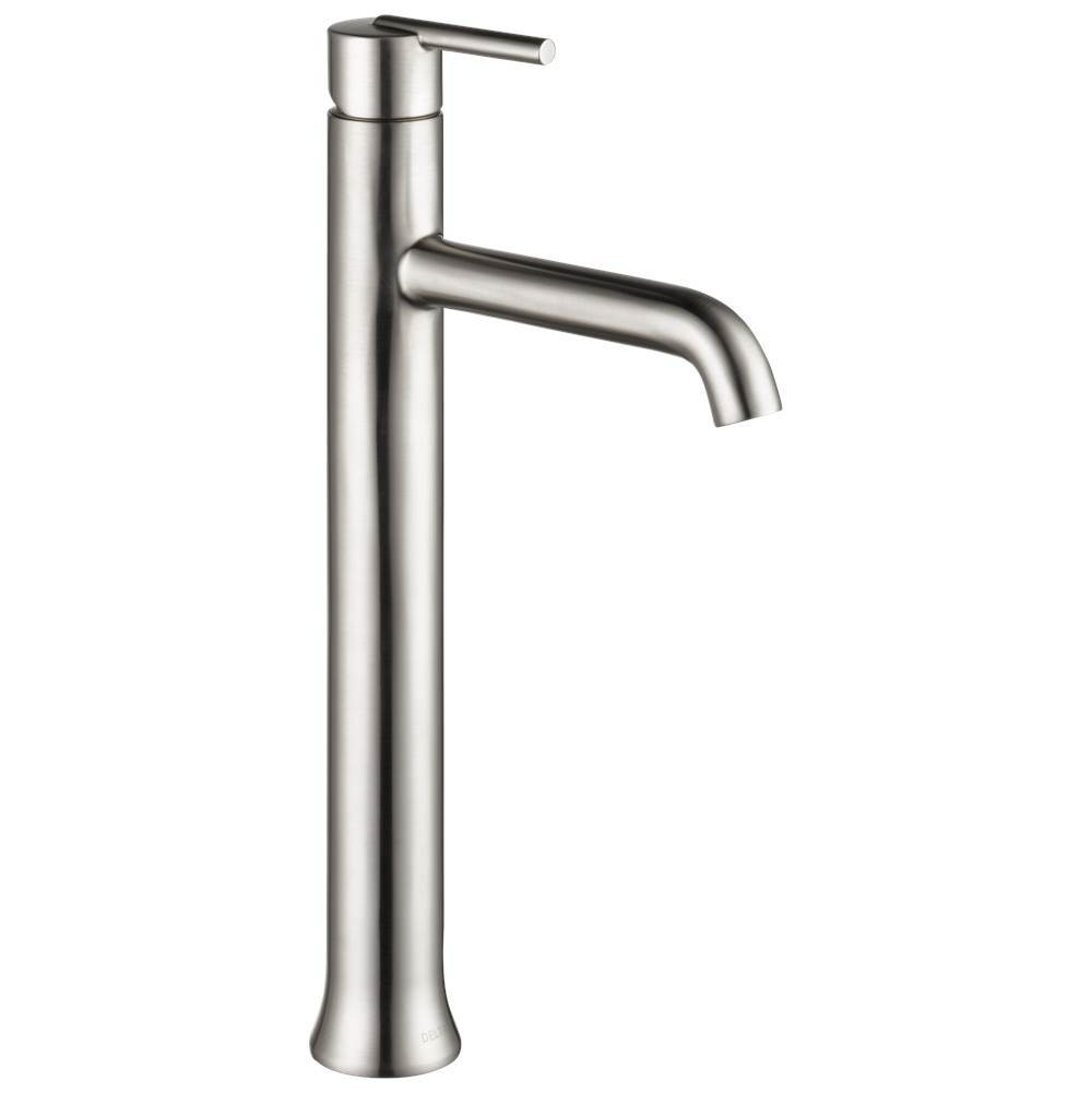 com matte black bathroom stainless blmpu mpu limited faucet metal pop overall hole brilliance lifetime assembly with drain up view in single room warranty gpm trinsic delta