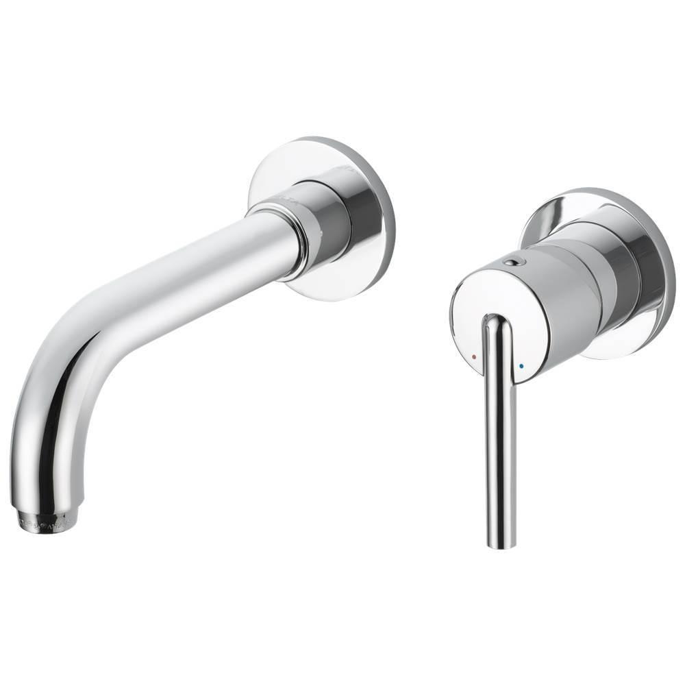 Delta Faucet - T3559LF-WL - Delta Trinsic: Single Handle Wall Mount Bathroom Faucet Trim