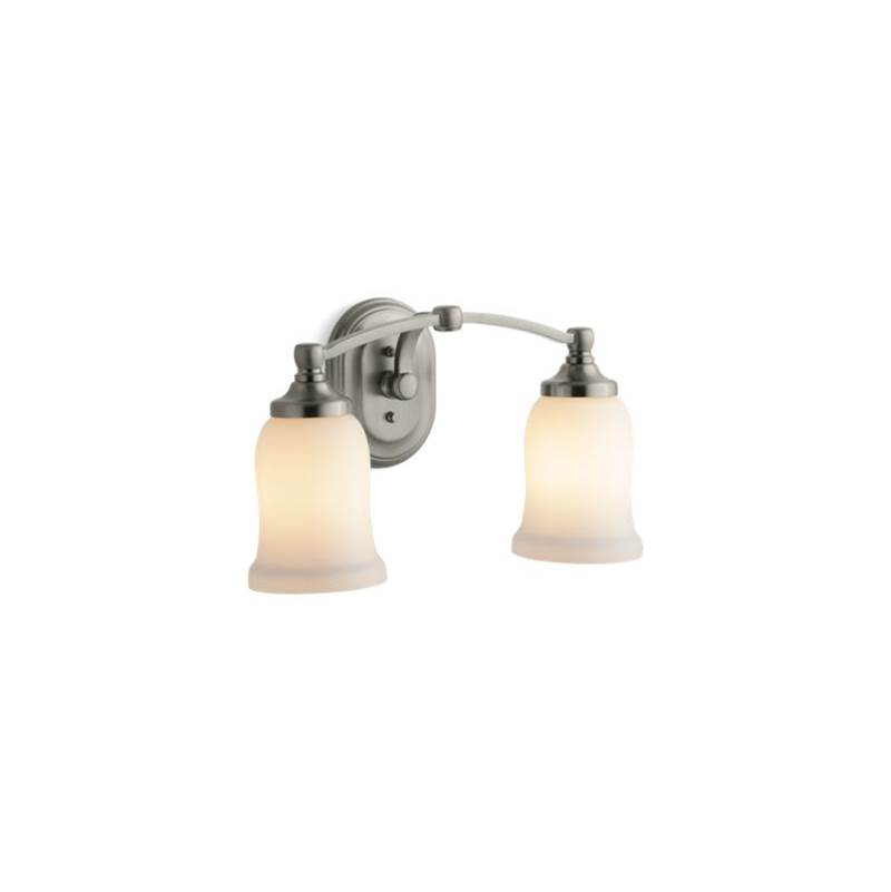 Kohler Two Light Vanity Bathroom Lights Item 11422 BN