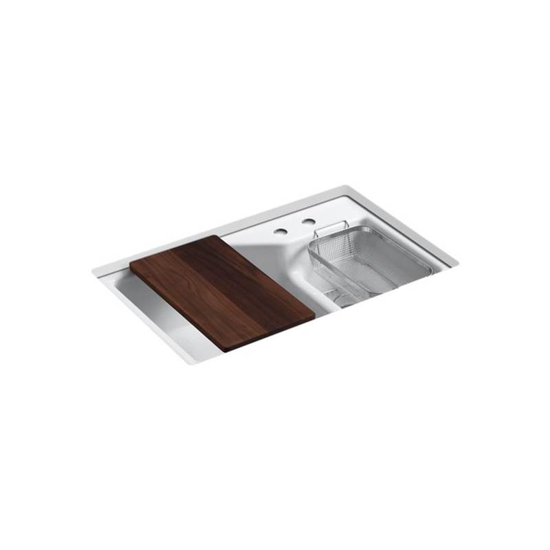 Kohler Undermount Kitchen Sinks item 6411-2-0