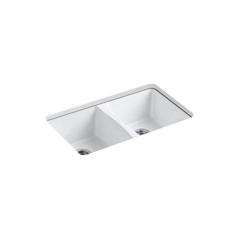 Kohler Kitchen Sinks Deerfield White | Neenan Company ...