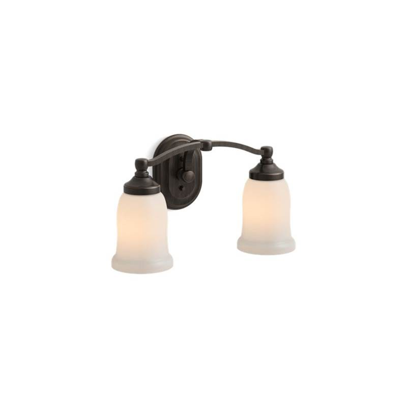 Kohler Two Light Vanity Bathroom Lights item 11422-2BZ