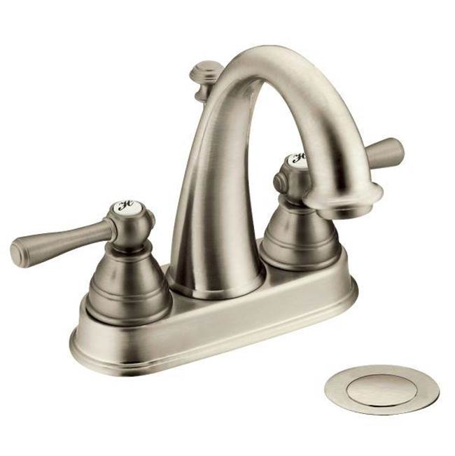 Moen Centerset Bathroom Sink Faucets item 6121BN