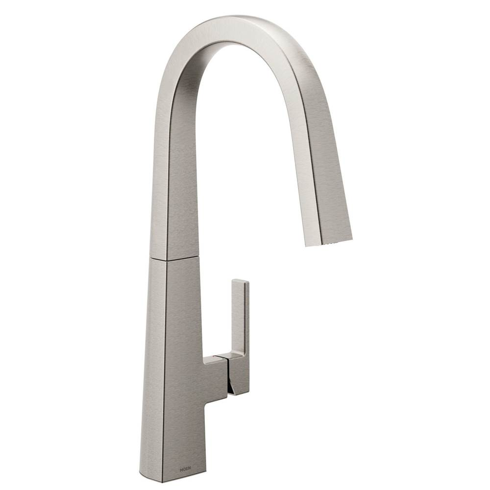 Moen Pull Down Faucet Kitchen Faucets item S75005SRS