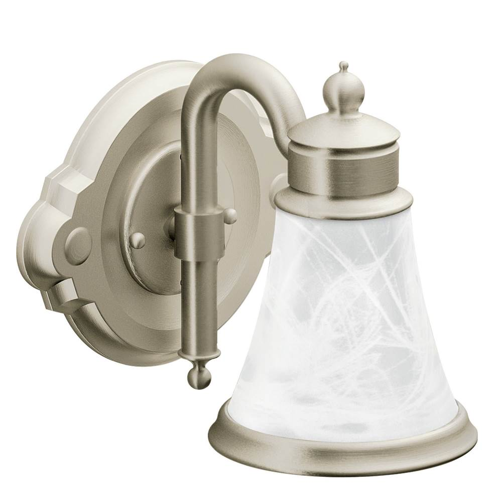 Moen One Light Vanity Bathroom Lights item YB9861BN