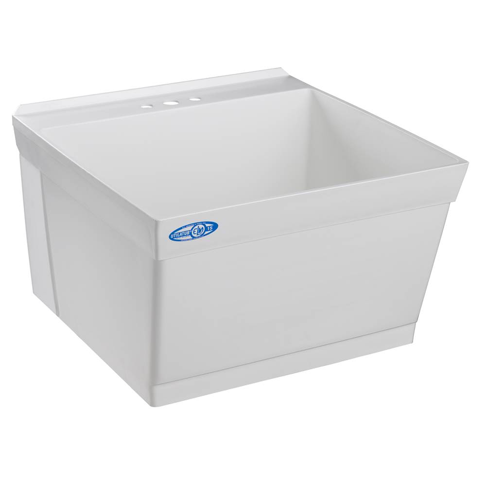Mustee And Sons  Laundry And Utility Sinks item 15W