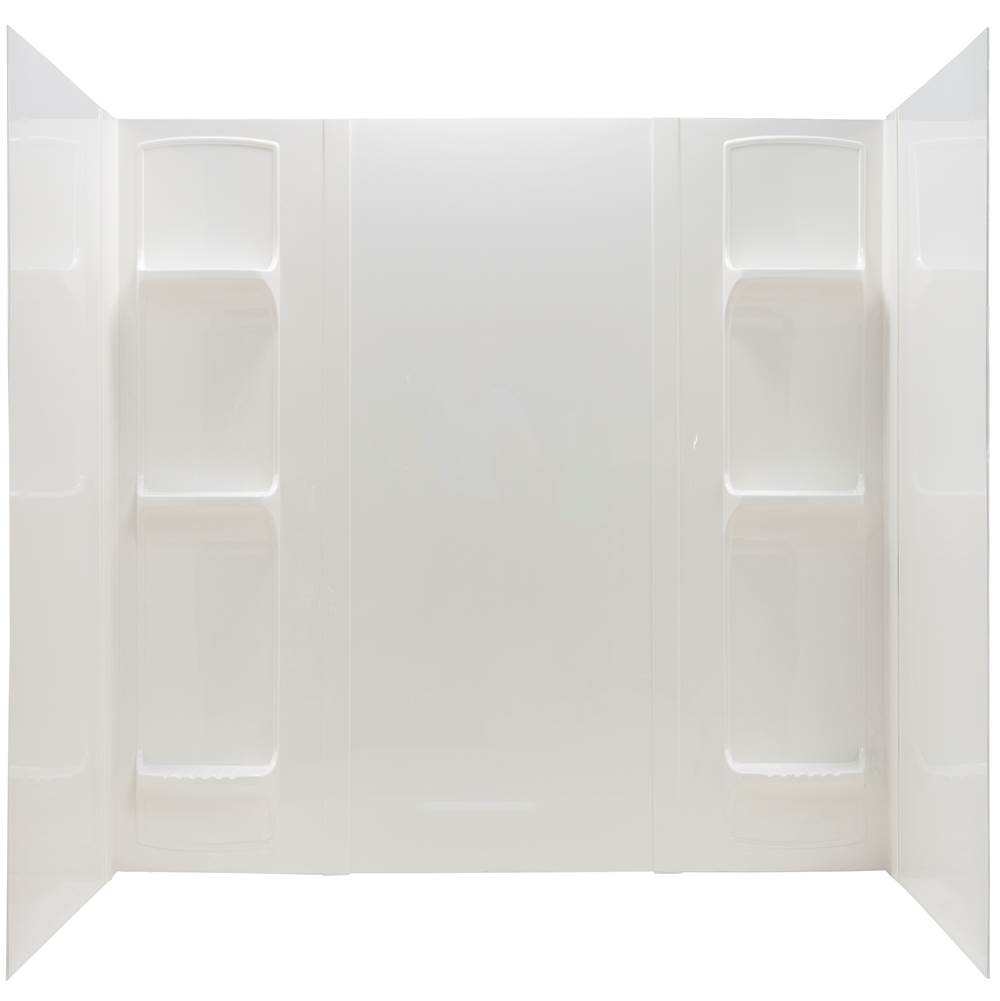 Mustee And Sons Single Wall Shower Enclosures item 56WHT