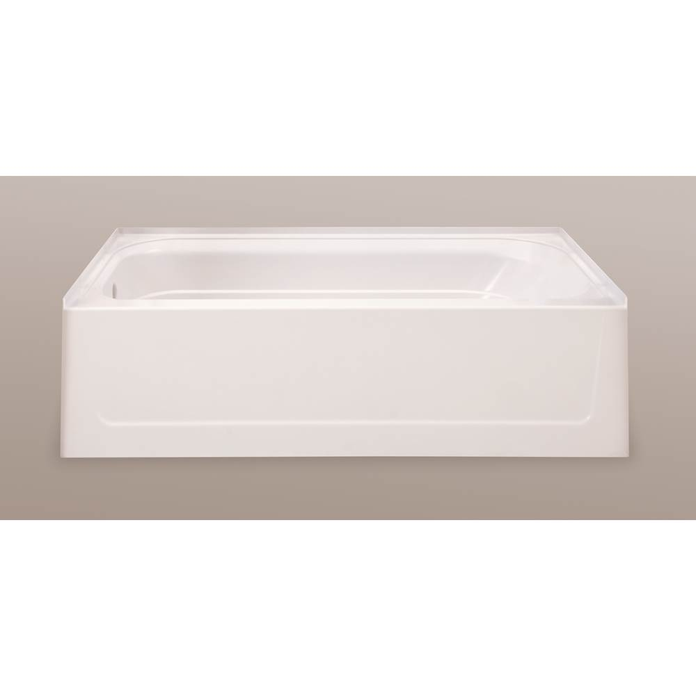 Mustee And Sons Three Wall Alcove Soaking Tubs item T6030LBT