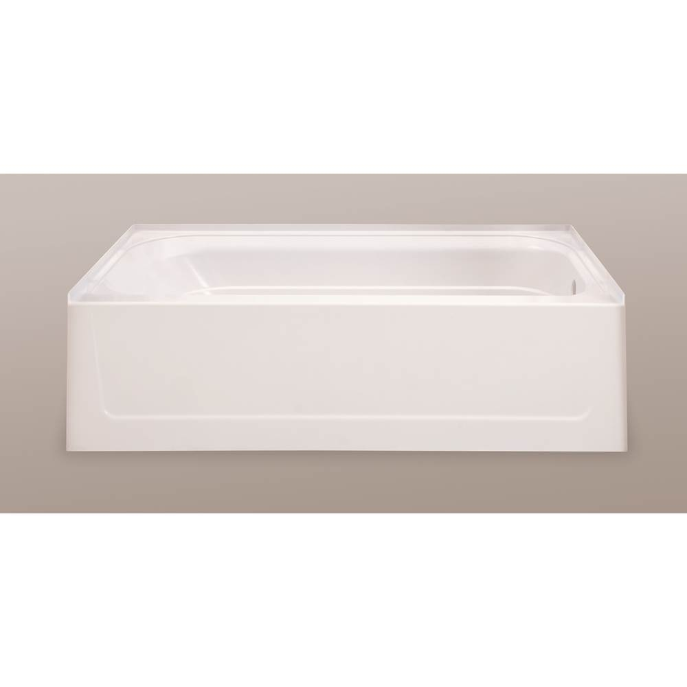 Mustee And Sons Three Wall Alcove Soaking Tubs item T6030RBN