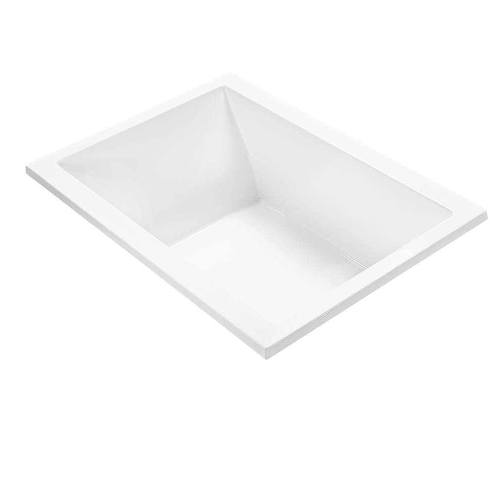 MTI Baths Undermount Air Bathtubs item AE102-WH-UM