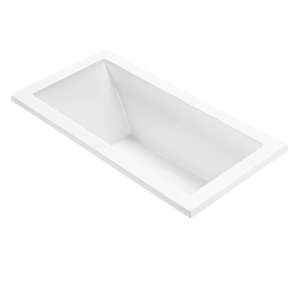 MTI Baths Undermount Air Bathtubs item AST105-BI-UM