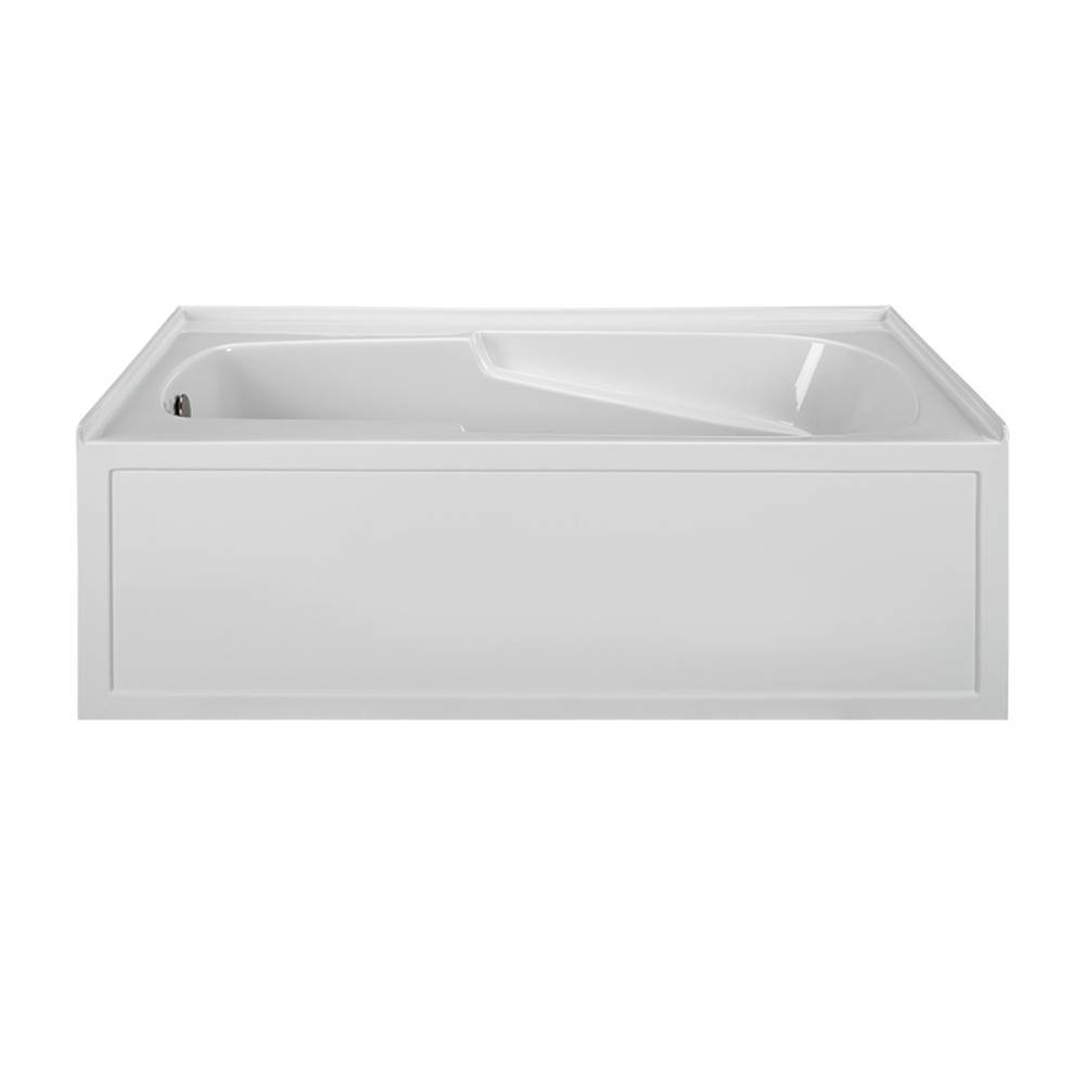 MTI Baths Three Wall Alcove Whirlpool Bathtubs item MBWIS6042-BI-LH
