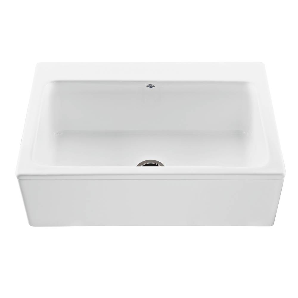 MTI Baths Farmhouse Kitchen Sinks item MBKS250-WH-PL