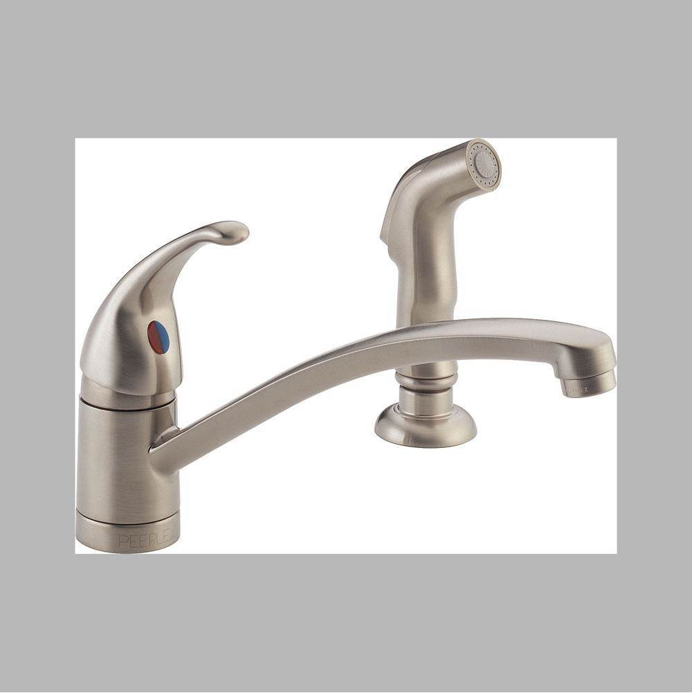 Peerless Deck Mount Kitchen Faucets item P188501LF-SS