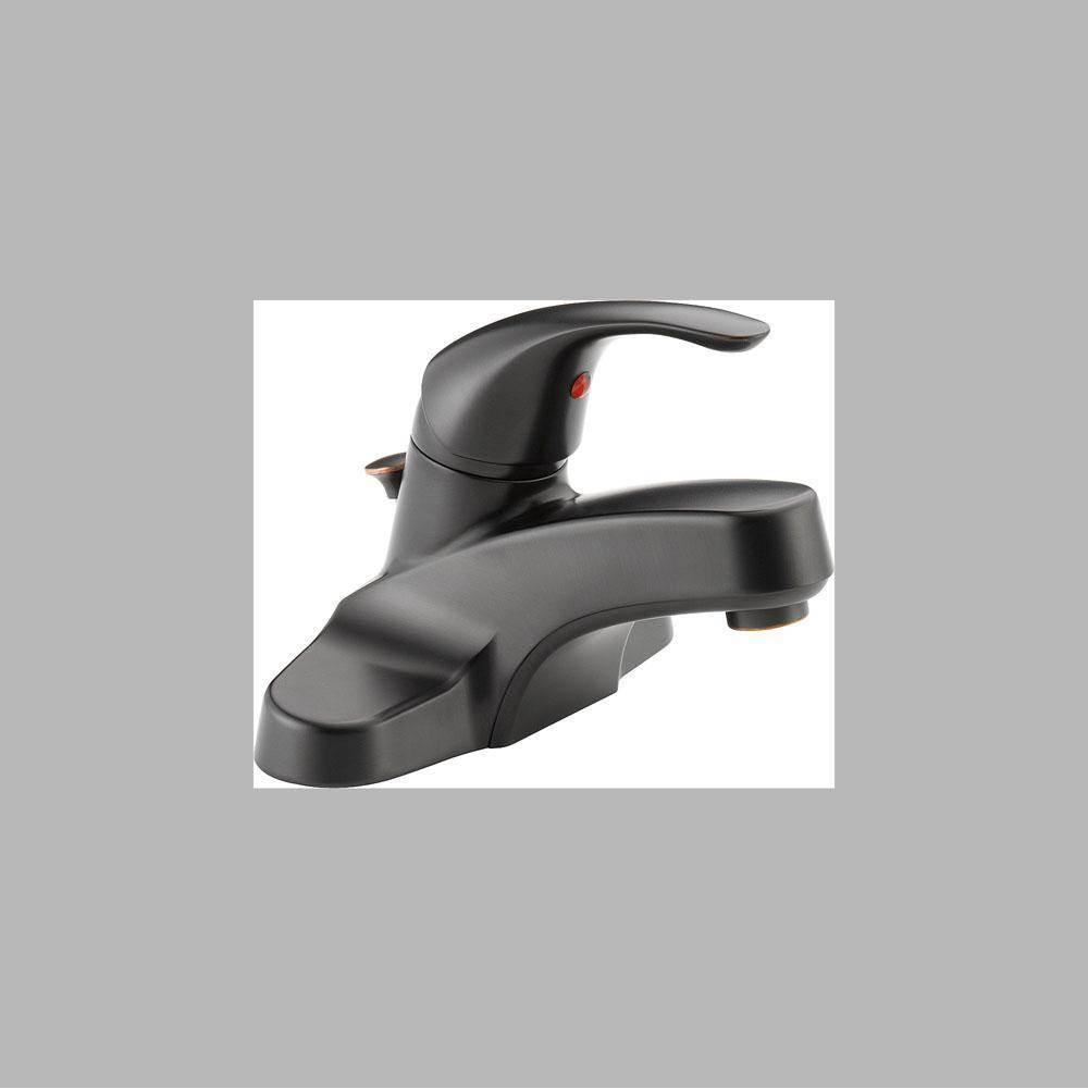 Peerless Centerset Bathroom Sink Faucets item P188620LF-OB-M