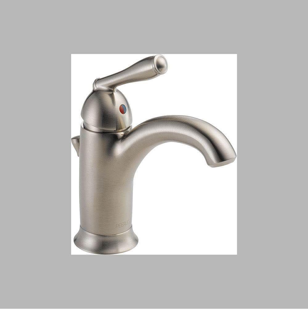 Peerless Single Hole Bathroom Sink Faucets item P188627LF-BN
