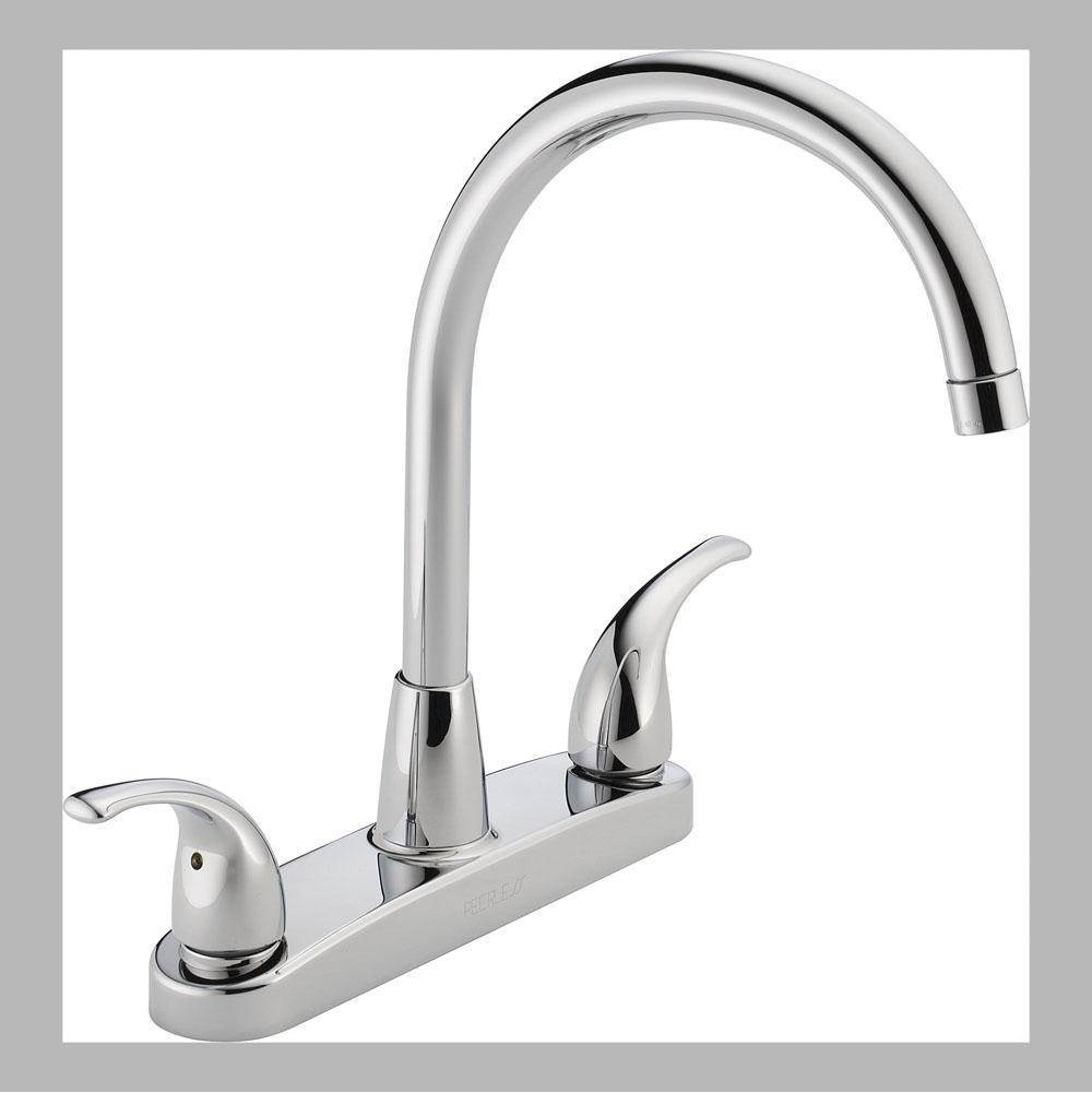 Peerless Deck Mount Kitchen Faucets item P299568LF