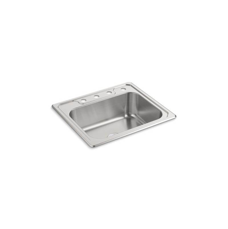Sterling Plumbing Drop In Kitchen Sinks item F14711-4-NA