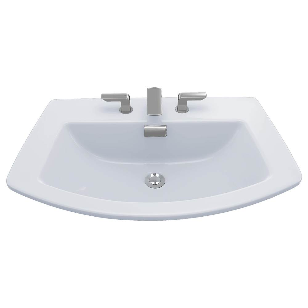 Bathroom Sinks Contemporary Black Neenan Company Showroom - Black drop in bathroom sink