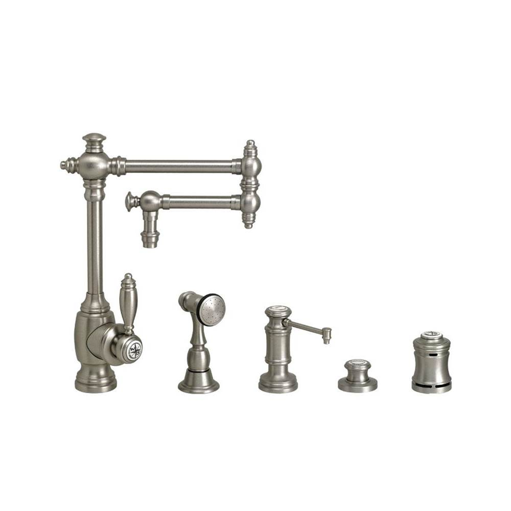 Waterstone Single Hole Kitchen Faucets Item 4100 12 4 SB