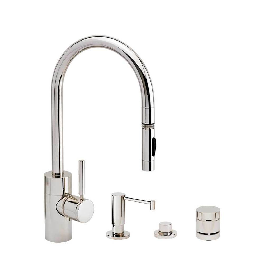 Waterstone Deck Mount Kitchen Faucets item 5400-4-MB