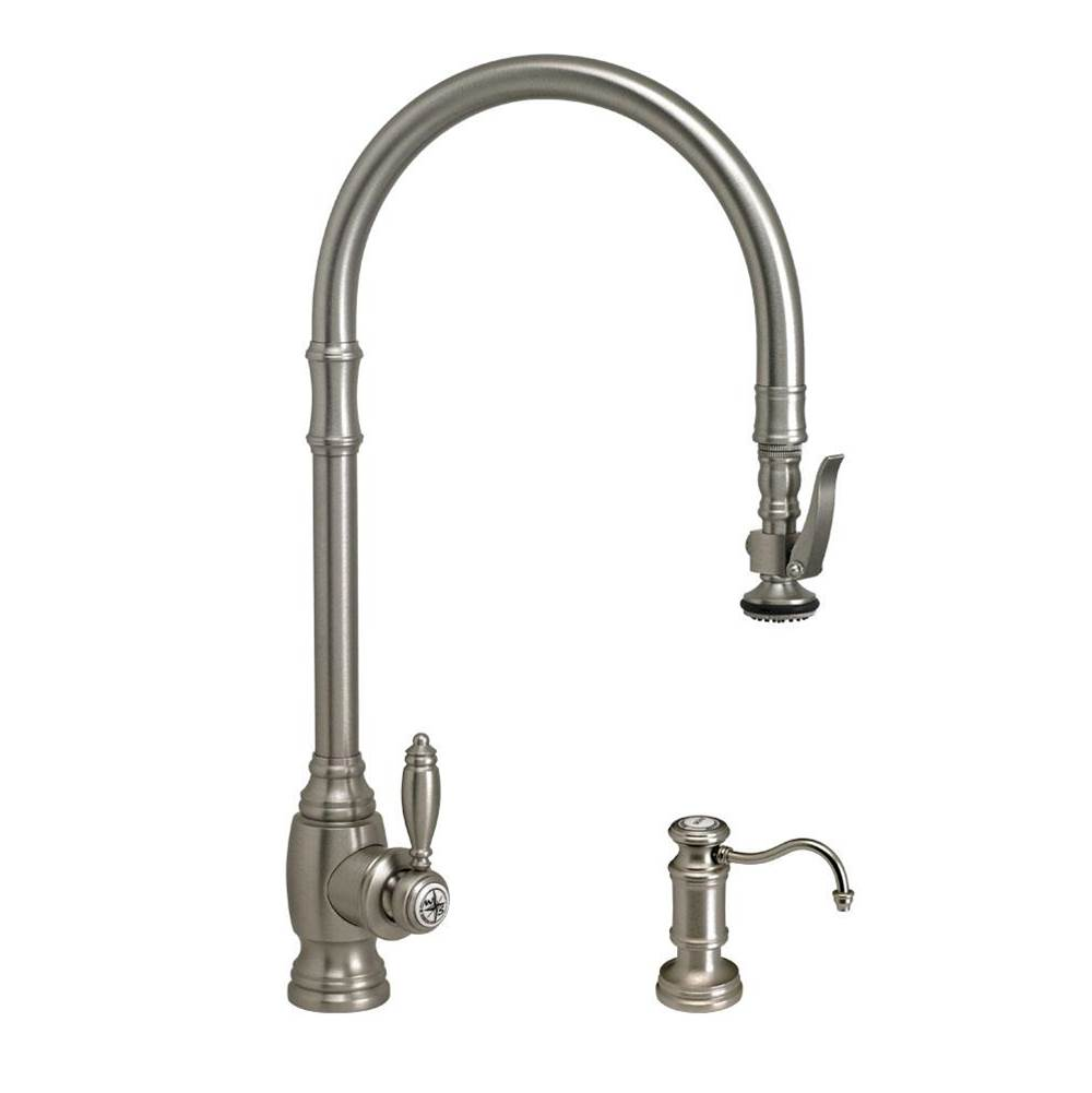 Waterstone Deck Mount Kitchen Faucets item 5500-2-PN