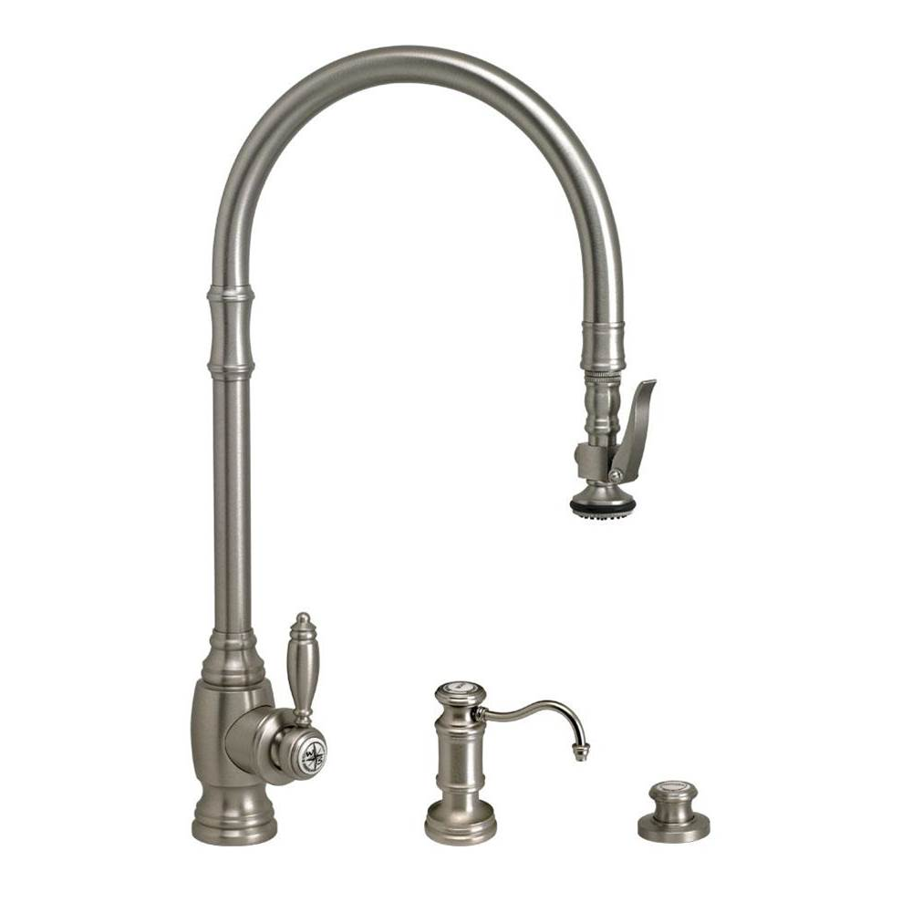 Waterstone Deck Mount Kitchen Faucets item 5500-3-CH