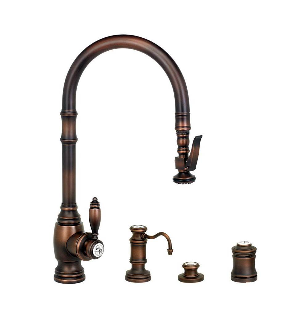 Waterstone Deck Mount Kitchen Faucets item 5600-4-AP