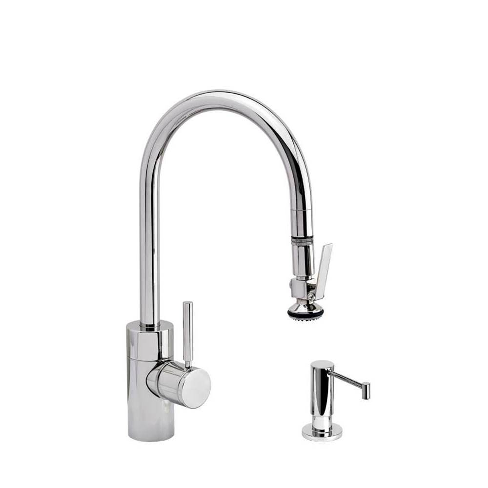Waterstone Deck Mount Kitchen Faucets item 5800-2-PN
