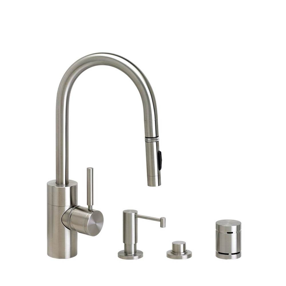 Waterstone Deck Mount Kitchen Faucets item 5900-4-TB