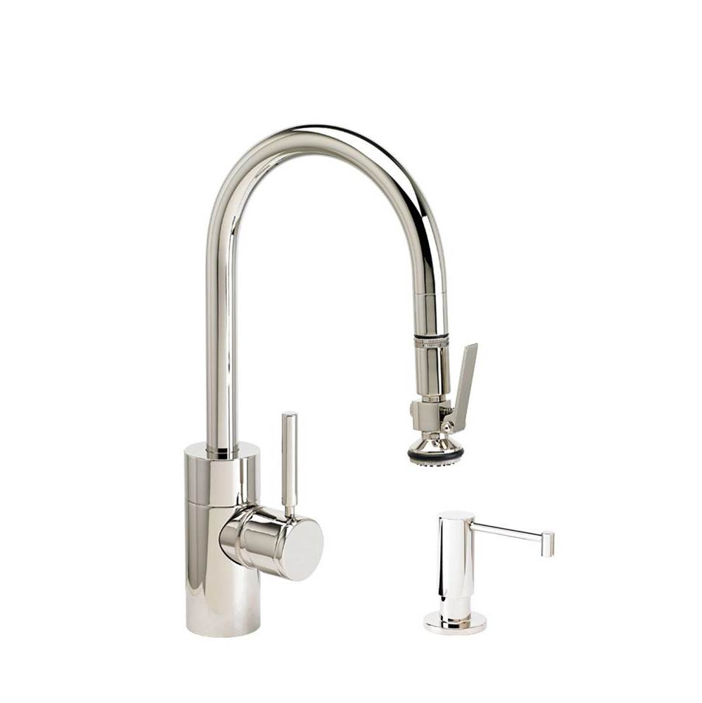 Waterstone Deck Mount Kitchen Faucets item 5930-2-PN