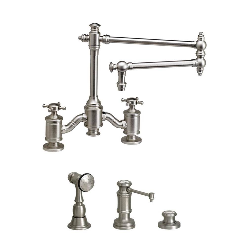 Waterstone Bridge Kitchen Faucets item 6150-18-3-DAB